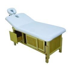 Massage Bed, Table w/Storage & Backlift w/Adjustable Height (White only) massage therapy, day spa, esthetician, spa equipment, best styles, low prices, manufacture, one of a kind, wholesale