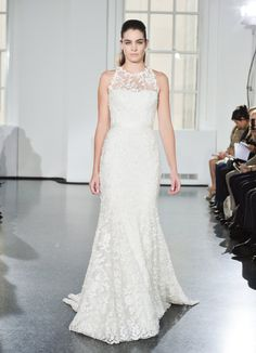 Pin for Later: Les Plus Belles Robes de Mariée de la Bridal Fashion Week Automne 2014  Romona Keveza Bridal Autumn 2014