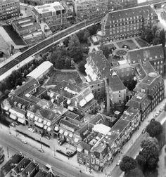 Ziekenhuis Eudokia vanuit de lucht