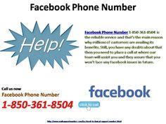 Talk With Support Professionals Via #FacebookPhoneNumber 1-850-361-8504