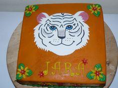 Witte tijger taart