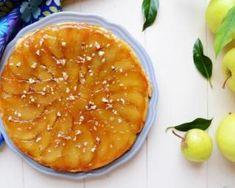 Tarte tatin légère sans pâte : http://www.fourchette-et-bikini.fr/recettes/recettes-minceur/tarte-tatin-legere-sans-pate.html