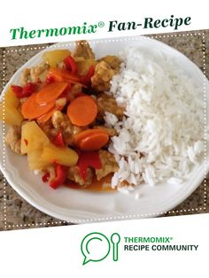 SWEET & SOUR PORK by osram. A Thermomix <sup>®</sup> recipe in the category Main dishes - meat on www.recipecommunity.com.au, the Thermomix <sup>®</sup> Community.