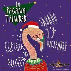 """Discovery Bar presenta a: """"La Pagana Trinidad y la Cumbia Del Niño"""" http://crestametalica.com/events/discovery-bar-presenta-a-la-pagana-trinidad-y-la-cumbia-del-nino/ vía @crestametalica"""
