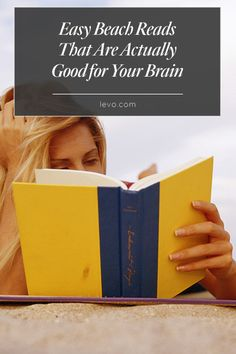 Reach for one of these #books this #springbreak to stimulate your brain! www.levo.com