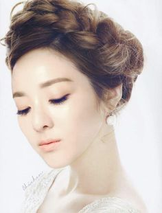 Beautiful Sandara Park COIFFURE