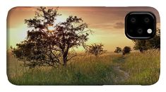 Sunset idyll IPhone Case for Sale by Ren Kuljovska.  Protect your iPhone 11 with an impact-resistant, slim-profile, hard-shell case.  The image is printed directly onto the case and wrapped around the edges for a beautiful presentation.  Simply snap the case onto your iPhone 11 for instant protection and direct access to all of the phone's features! #sunsetonthemeadow #goldenhour #phonecase #artprint Photography Awards, Amazing Photography, Sunset Art, Iphone Cases, Iphone 11, Travel Photographer, How To Be Outgoing, Wonderful Images, Customized Gifts