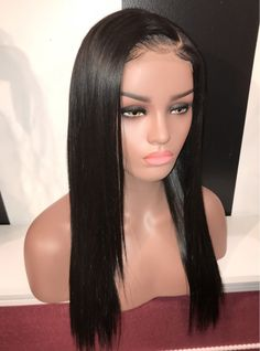 Buy this high quality wigs for black women lace front wigs human hair wigs  african american wigs the same as the hairstyles in picture e1e94acd2