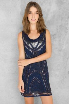 Kind of hard-core, but cute at the same time Alexi Sequin #Dress $54 | Size M | Francesca's Boutique