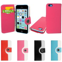 Mobile Extra Ltd | Rakuten.co.uk Shopping: MobileExtraLtd® For Apple Iphone 5C Hybrid Color PU Leather Book Wallet Flip Case Cover  MobileExtraLtd® For Apple Iphone 5C Hybrid Color PU Leather Book Wallet Flip Case Cover: IPHN5CHYBRIDBOOKMULTI from Mobile Extra Ltd | Rakuten.co.uk Shopping