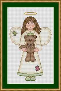 Cross Stitch Works: Free Cross Stitch Pattern angel