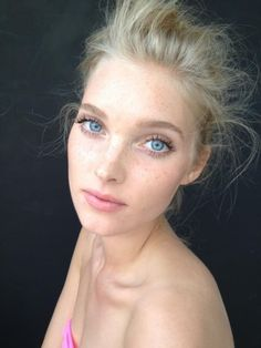 Elsa Hosk • she is GORGEOUS! Sheesh