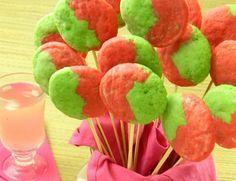 Sugar Free Cookie Recipes - Raspberry Lime Swirls