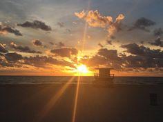 Miami Sunrise by Ernesto Orsetti @ernestoorsetti #miami #florida #miamibeach #sobe #southbeach #brickell #Miami