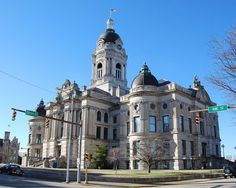 Old Courthouse in Evansville, Indiana.  I was born & raised in E'ville