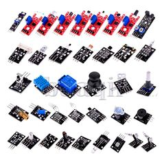37pcs Sensor module kit for Arduino & Raspberry PI Include Plastic Box DA