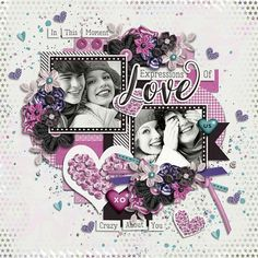 Akizo Designs-Always And Forever  Tinci Designs-Full Of Love Template http://store.gingerscraps.net/In-Love-Grab-Bag.html