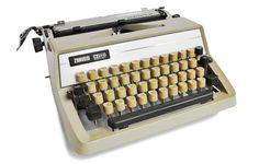 Typewriter Heaven: Retro cool... frosty cool typewriter
