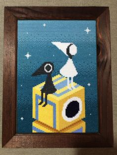 :@tamao_x_st  finally finished his awseome #MonumentValleyGame #crossstitch!http://pic.twitter.com/5QJFzWz0j1