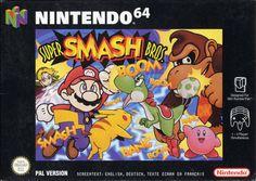 Super Smash Bros. box art (N64 PAL)