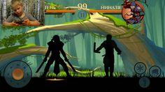 """Прикольные игры на андроид. Бой с тенью """"Shadow fight 2"""" Игры для мальчиков"""