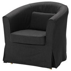 EKTORP TULLSTA Armchair - Idemo black - IKEA - this in beige?