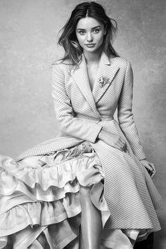 "Miranda Kerr in ""Boy Wonder"" for Vogue Australia, July 2014"