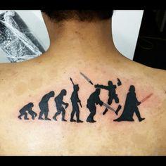 "33 Asombrosos tatuajes de ""La guerra de las galaxias"" que querrás ahora mismo"