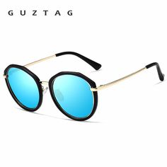 48a7f1b5ce Find More Sunglasses Information about Guztag Acetate Frame Women s Sun Glasses  Polarized UV400 Lens Luxury Ladies