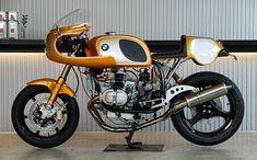 BMW R100rs Reto custom street racer ... love it