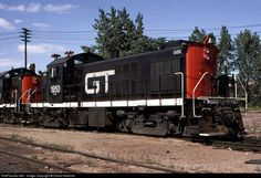 RailPictures.Net Photo: gtw 1950 Grand Trunk Western Alco RS-1 at pontiac, Michigan by David Hedlund