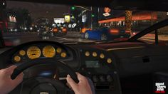 Grand Theft Auto V - First person mode