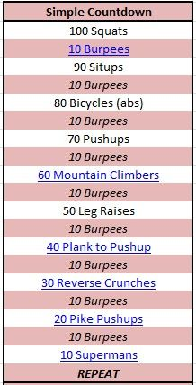 workouts - Click image to find more Fitness Pinterest pins