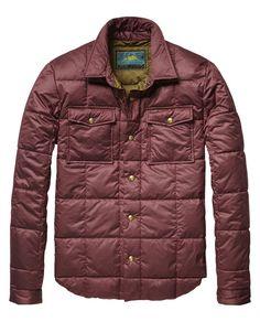 Lightweight Quilted Jacket  - Scotch