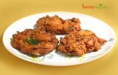 Ulli vada or Onion vada - an easy to make vada recipe. It can be made quickly within minutes. The ingredients required are also easily available.