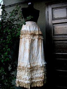 1dd798ef5be skirt steampunk steampunk skirt long skirt victorian by radusport
