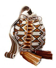 Miss  Mochila  Cream Cartagena Mochila Tassel Bag