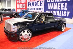 Ford dually crewcab at #SEMA 2012