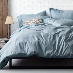 domino By The Company Store®️️ Marble bedding - Woven of smooth, 200-thread count 100% cotton percale, these sheets look great alone or designed to layer with our other bedding.