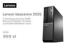 Lenovo Ideacentre 300S G1840/4GB/500/DVD-RW/Win10