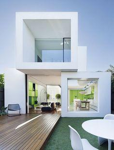 Una casa moderna y ecológica en Melbourne