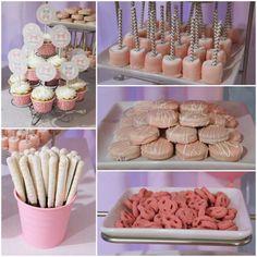 Little Man or Little Lady Gender Reveal pink food ideas