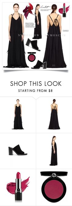 """""""SVMOSCOW"""" by elly-852 ❤ liked on Polyvore featuring Ann Demeulemeester, Avon, Giorgio Armani and svmoscow"""