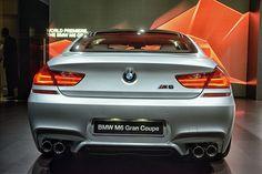 2014 BMW M6 Gran Coupe Rear by AntonStetner, via Flickr  #detroitautoshow #naias