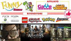 Funny Games: Console - Videogames - Accessori - Nuovo - Usato http://affariok.blogspot.it/2015/11/funny-games-console-videogames.html