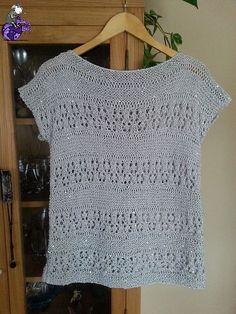 New Woman's Crochet Patterns Part 42 - Beautiful Crochet Patterns and Knitting Patterns Cotton Crochet, Crochet Lace, Knitting Patterns, Crochet Patterns, Summer Knitting, Crochet Blouse, Beautiful Crochet, Crochet Clothes, Knitting Projects