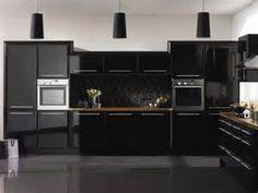 Ikea Kitchen Cabinet Doors High Gloss Black