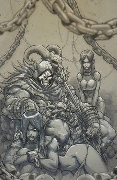 ✧ #characterconcepts ✧  Skeletor illustration by MiaCabrera #AweSomEilluStrationS