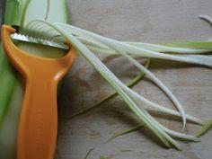 Cuketové špagety krok 1