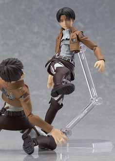 ((I just really want Levi and Eren Attack on Titan figma models now, okay-))